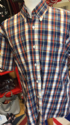 Blue, Red Relco Shirt XL